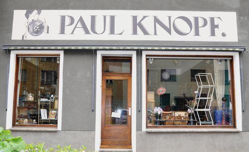 Außenansicht Paul Knopf Laden
